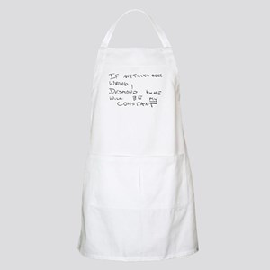 My Constant BBQ Apron