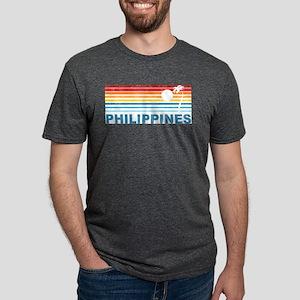Retro Philippines Palm Tree T-Shirt