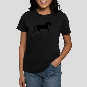 Cantering Horse Women's Dark T-Shirt