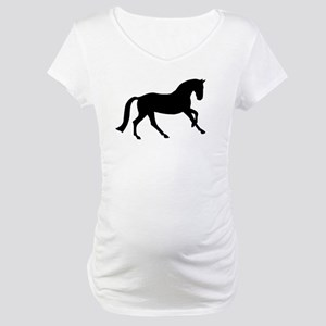 Cantering Horse Maternity T-Shirt