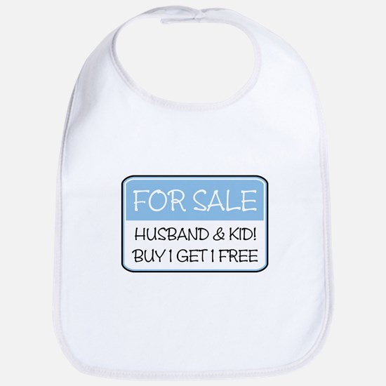 4SALE HUSB/KID (blue) Bib
