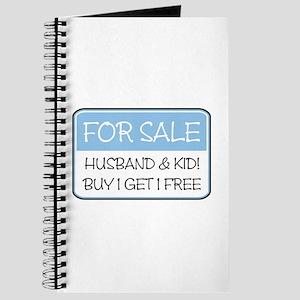 4SALE HUSB/KID (blue) Journal