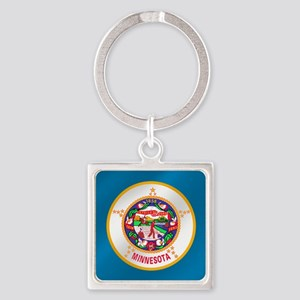 Flag of Minnesota Keychains