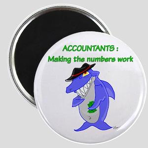 Shark Accountant Magnet