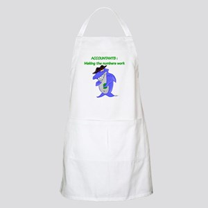 Shark Accountant BBQ Apron