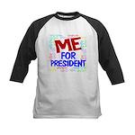 Me For President Kids Baseball Jersey