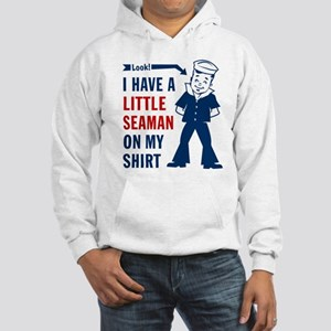 2little_seaman_white Sweatshirt