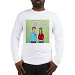 Diet Pill Meaningless Claims Long Sleeve T-Shirt