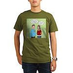 Diet Pill Meaningless Organic Men's T-Shirt (dark)
