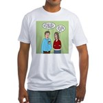 Diet Pill Meaningless Claims Fitted T-Shirt