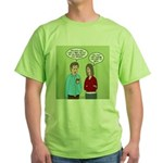 Diet Pill Meaningless Claims Green T-Shirt
