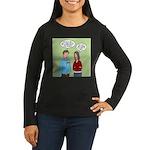Diet Pill Meaning Women's Long Sleeve Dark T-Shirt