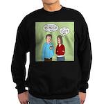 Diet Pill Meaningless Claims Sweatshirt (dark)