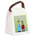 Diet Pill Meaningless Claims Canvas Lunch Bag