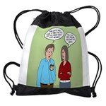 Diet Pill Meaningless Claims Drawstring Bag