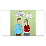 Diet Pill Meaningless Cl Sticker (Rectangle 10 pk)