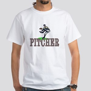Pitcher White T-Shirt