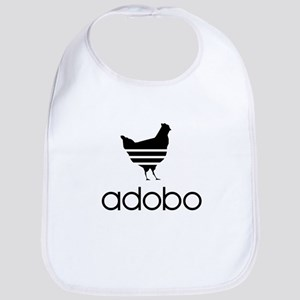 Adobo Black Print Bib
