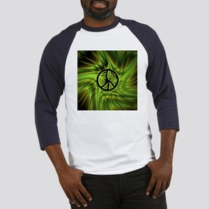 Green Peace Baseball Jersey