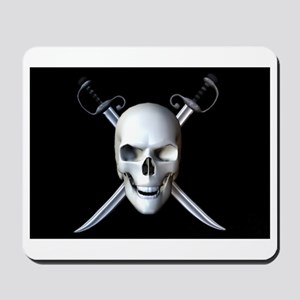 Pirate Skull Flag Mousepad