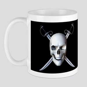 Pirate Skull Flag Mug