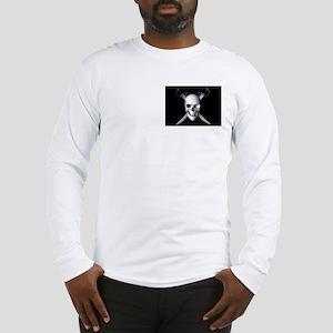 Pirate Skull Flag Long Sleeve T-Shirt
