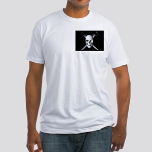 Pirate Skull Flag Fitted T-Shirt