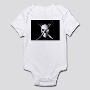 Pirate Skull Flag Infant Creeper