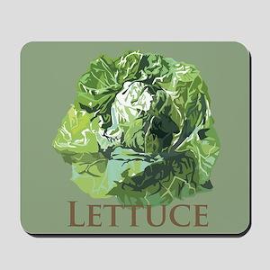 Leafy Lettuce Mousepad