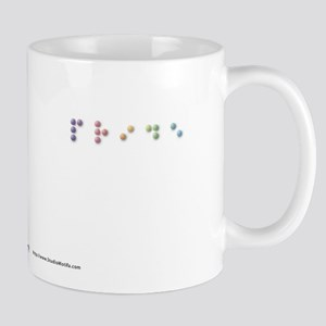 Pride in Braille Mug