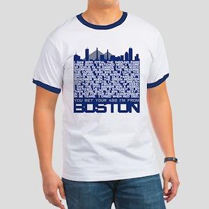 I'm From Boston Ringer T