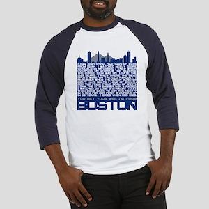 I'm From Boston Baseball Jersey