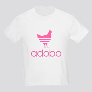 Adobo Pink Print Kids Light T-Shirt