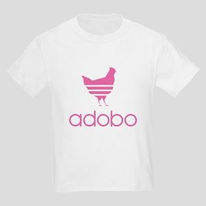 Adobo Pink Print Kids Light T-Shirt
