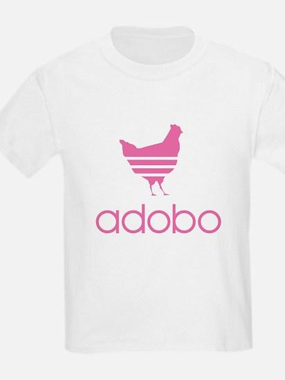 Adobo Pink Print T-Shirt