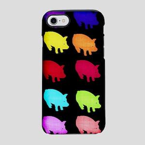 Rainbow Pigs iPhone 8/7 Tough Case