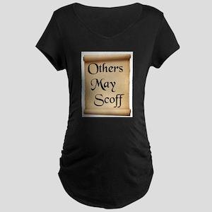 WISE WORDS Maternity Dark T-Shirt