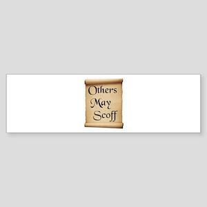 WISE WORDS Bumper Sticker
