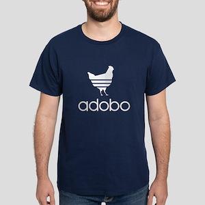 Adobo White Print Dark T-Shirt
