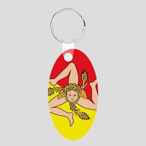 SICILIAN FLAG Keychains