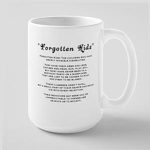 Kids Disabilities Special Nee Large Mug