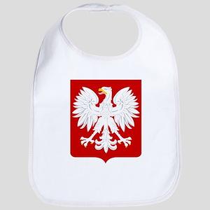 Arms of Poland Baby Bib