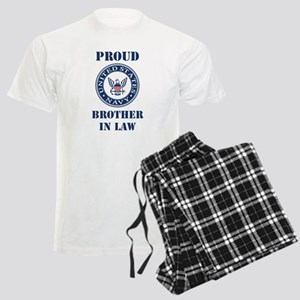 Proud US Navy Brother In Law Pajamas