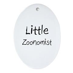 Little Zoonomist Oval Ornament
