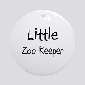 Little Zoo Keeper Ornament (Round)