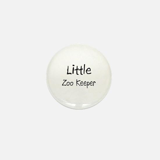 Little Zoo Keeper Mini Button