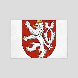 Coat of Arms czechoslovakia 4' x 6' Rug