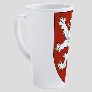 Coat of Arms czechoslovakia 17 oz Latte Mug