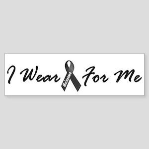 I Wear Black For Me 1 Bumper Sticker