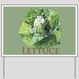 Leafy Lettuce Yard Sign
